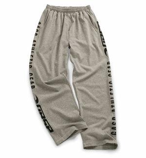 Gasp Jersey Training Pant, Greymelange