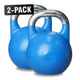 Competition Kettlebells WH 12 kg Blå, 2-Pack