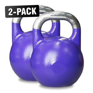 Competition Kettlebells WH 20 kg Lila, 2-Pack