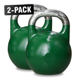 Competition Kettlebells WH 24 kg Grön, 2-Pack