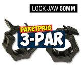 Klämlås Lock-Jaw, 3-Par Paket