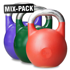 Competition Kettlebells WH Mix Paket, 20, 24, 32 kg