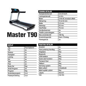 Löpband Master T90