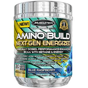 Muscletech Aminobuild Energized 30 Serv.