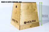 Plyometric Box Wood MDUSA 2-in-1 *Passa på*