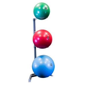 Gymbollshållare för 3 gymbollar