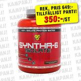 BSN Syntha-6 Isolate, 1,8 kg *TILLFÄLLIGT PARTI*