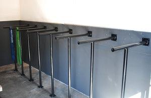 Dipshandtag för golv/vägg montering, MDUSA