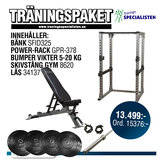 Power-Rack GPR-378 Träningspaket 2