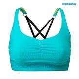 Athlete short top Aqua blue