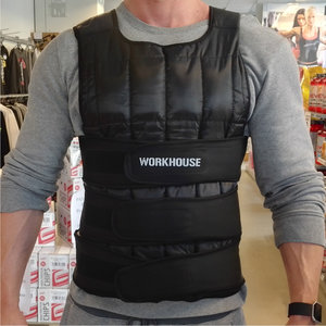 Viktväst, Workhouse, Ställbar, 18 kg *Kampanj!*