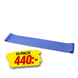 Mini Band Omkrets 60cm Medium Blå 10-Pack 10-Pack