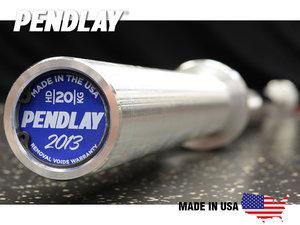 Skivstång 50mm Pendlay Nexgen HD 220cm/20kg