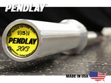 Skivstång 50mm Pendlay Nexgen HD 200cm/15kg