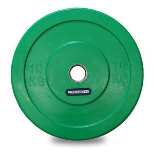 Bumper Plate 50mm WH Grön 10kg