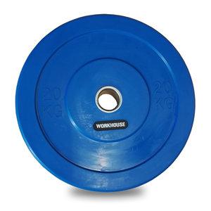 Bumper Plate 50mm WH Blå 20kg