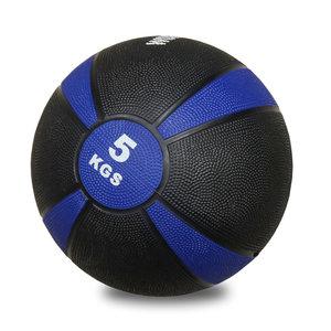 Medicinboll i gummi 5 kg Svart/Lila *Nyhet*