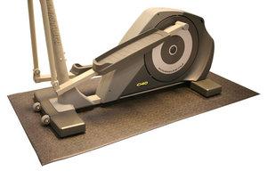 Golvmatta för löpband & crosstrainers