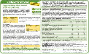 Vitargo +Electrolyte, Portionspåse