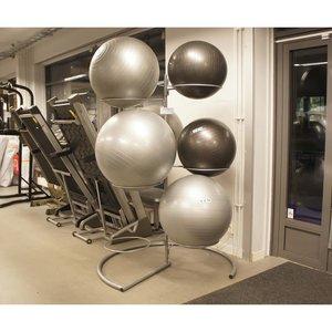Gymbollshållare, Golvmodell för 9 gymbollar