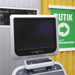 Precor Recumbent Cykel 846i med TV
