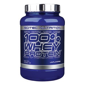 Scitec 100% Whey Protein 920g, Naturell