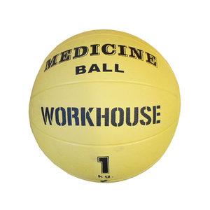 Medicinboll i gummi, 1 kg