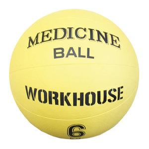 Medicinboll i gummi, 6 kg