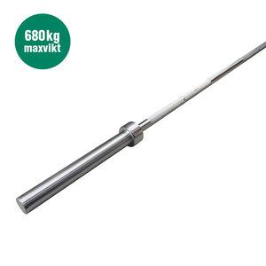 """Skivstång 50mm, 220 cm """"Styrkelyft"""""""