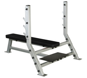 Olympic Flat Bench med Spotter Stand
