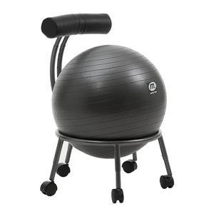 Ball Chair för gymboll med ryggstöd *Nyhet*