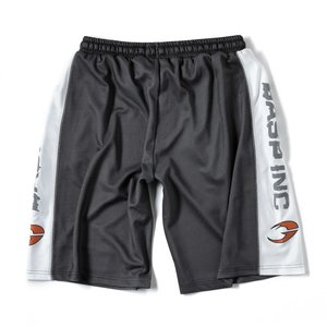Gasp No1 Mesh Shorts, Black/White