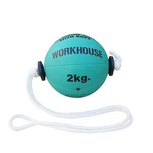 Tonadoboll, Medicinboll med Rep, 2 kg, Workhouse