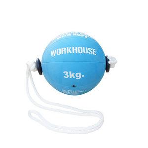 Tonadoboll, Medicinboll med Rep, 3 kg, Workhouse