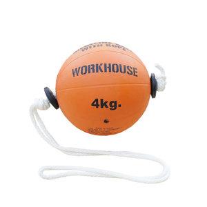 Tonadoboll, Medicinboll med Rep, 4 kg, Workhouse