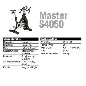 Master S4050 Spinningcykel *Slut i lager*