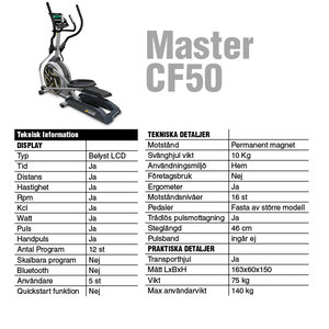 Crosstrainer Master CF50