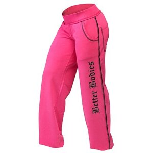 Baggy soft pant Hot pink