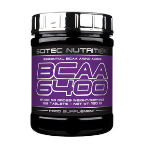Scitec BCAA 6400, 125 tab