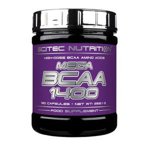 Scitec Mega BCAA 1400, 180 kapslar