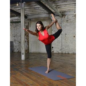 Yogamatta Reebok 171x61cm Grå/Röd