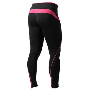 Fitness long tights Black/Pink