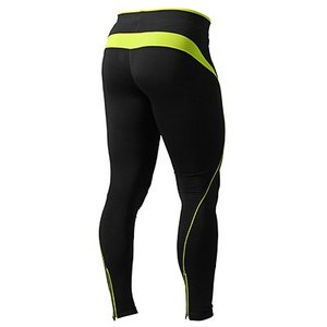 Fitness long tights Black/Lime