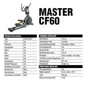 Master Crosstrainer CF60 *Slut i lager*