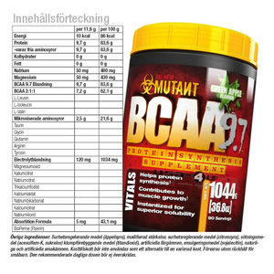 Mutant BCAA 9.7, 30 serv.