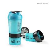 Pro Shaker Aqua/Black, 600 ml