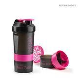 Pro Shaker Pink/Black, 600 ml