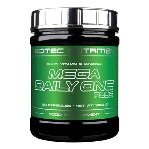 Scitec Mega Daily One plus, 120 kaps