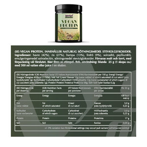Self Vegan Protein 500g Naturell
